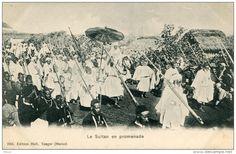 MAROC(TANGER) TYPE MILITAIRE(SULTAN) - Tanger