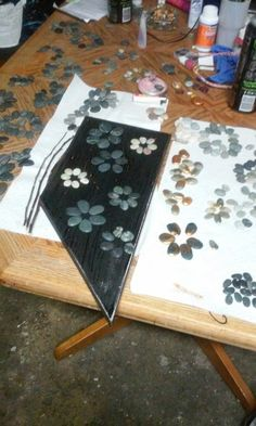 Stone Crafts, Flower Pictures, Rock, Flowers, Flower Photos, Skirt, Locks, The Rock, Rock Music