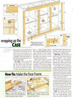 #2877 Home Bar Plans - Furniture Plans