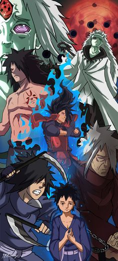 Shinobi Evolutions - Madara Uchiha by JazylH.deviantart.com on @DeviantArt