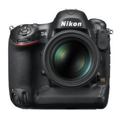 Nikon D4 16.2 MP CMOS FX Digital SLR with Full 1080p HD Video (Body Only) $5,999.00