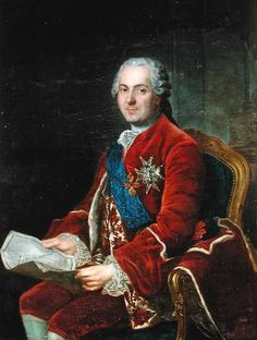 A portrait of Louis the dauphin (1729–1765) by Anne Baptiste Nivelon