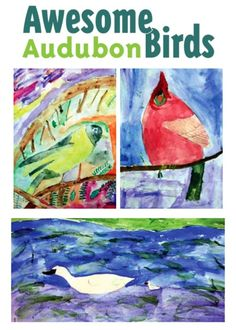 Their natural enthusiasm for birds inspired upper-elementary students as they took on the challenge of this watercolor lesson. From our April 2010 issue.