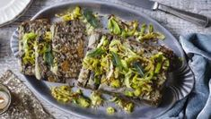 This is a really easy nut roast to throw together and it can happily be made in advance and sit for a half an hour. It's also brilliant cold with chutney in sandwiches. Creamy Mushrooms, Stuffed Mushrooms, Stuffed Peppers, Vegetarian Nut Roast, Vegetarian Recipes, Nut Loaf, Vegetable Stock Cubes, Vegan Gravy, Tacos