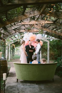 Vow Renewal with a very Touching Story!! http://www.StyleMePretty.com/2014/03/21/oak-valley-vineyard-vow-renewal/ AnneMariePhotography.com on #SMP