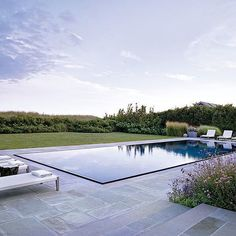 already dreaming of summer/day dreaming about a project in the works and how i can incorporate this infinity-edge pool detail by @ikekligermanbarkley || cc: @archdigest
