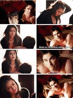 "S5 Ep17 ""Rescue Me"" - Elena and Damon"