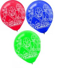Power Rangers Samurai Party 12 Inch Printed Latex Balloons 6 Ct2Pack *** See this great product. (This is an affiliate link)