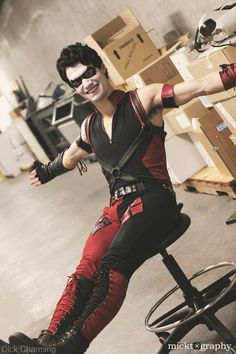 male version of harley quinn Harley Quinn Halloween, Harley Quinn Cosplay, Joker And Harley Quinn, Dc Cosplay, Male Cosplay, Anime Cosplay, Cosplay Ideas, Gay Halloween Costumes, Poison Ivy Cosplay