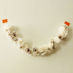 2' Long Flower Garland. $12.00, via Etsy.