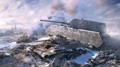 Panzerkampfwagen VIII 'Maus' and - Landkreuzer 'Ratte' and 'Gustav' Tank Wallpaper, Free Desktop Wallpaper, Desktop Backgrounds, Hd Desktop, World Of Tanks, Military Paint, Super Tank, War Thunder, Cars