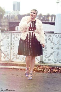 Plus Size Fashion - New Year's Eve - Lu zieht an.