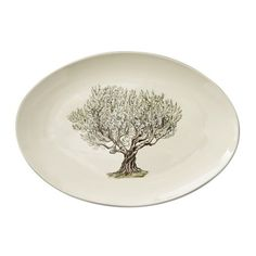 Napa Farmhouse Oval Platter, Tree #williamssonoma