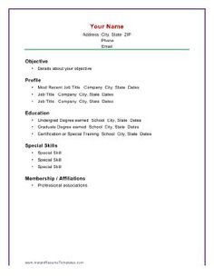basic resume examples resumes format freshers raw example simple sample best free home design idea inspiration
