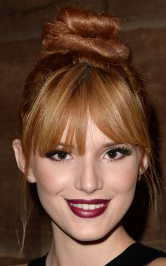 Bella Thorne's Twisted Top Knot