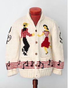 $695 Polo Ralph Lauren Hand Knit Cowichan Nautical Anchor Shawl Sweater Coat L