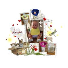 Fashion set Baby Love created via Time Sharing, Handmade Items, Handmade Gifts, Amazing Gifts, Love Holidays, Together We Can, Winter Time, Kids Gifts, Art Forms