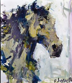In this step-by-step video demonstration I will share how to paint horses  with acrylic paint. For this painting I'm focusing on the head area...