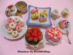 Miniatures par Je aime Little Things: Avril 2009