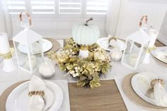 Fall Table Setting D