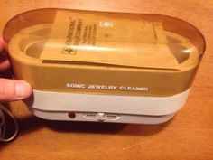 International Silver Co. Sonic Jewelry Cleaner Model ATC-3 Vintage 99110002 - http://jewelry.goshoppins.com/jewelry-design-repair/international-silver-co-sonic-jewelry-cleaner-model-atc-3-vintage-99110002/