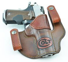 laser etched holster 1911 Holster, Gun Holster, Leather Holster, Leather Tooling, Leather Bags Handmade, Leather Craft, Pancake Holster, Concealed Carry Holsters, Leather Projects