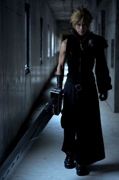 Cloud, Final Fantasy VII. Hawt.