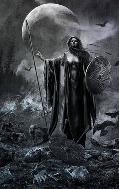 Come my Valkrie take me into the sky, where the hero's of the north all go when they die...