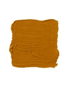 """Benjamin Moore Gold Rush 2166-10    """"I would use this pumpkin with olive trim. It's a bold color that pushes the envelope for a front door. It says, 'I dare you to walk through.' But then it's also very appealing. It's the new paradigm for anyone who is tired of red doors. It's more youthful."""" -WHITNEY STEWART"""