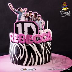 One Direction Cake – Pastel de One Direction | thecakeart.com