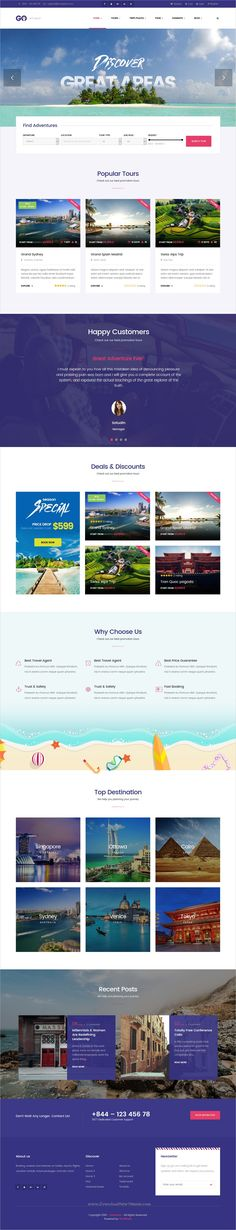 Go Love is wonderful 4in1 responsive #WordPress theme for #travel agency, #tour operator and hotels directory websites download now➩  https://themeforest.net/item/go-love-travel-wordpress-theme/19338468?ref=Datasata