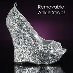 Aaliyah by Pink at MetallicBridalShoes.com