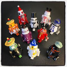 Please Help Name These 10 Droids I Built!
