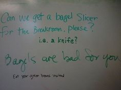 Passive Aggressive Notes From Co-workers : theBERRY