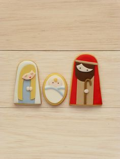 Peaceofcake ♥ Sweet Design - nativity story cookies