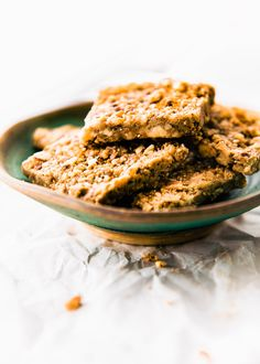Super Easy 3 Step Paleo Baklava Flavored Bars Healthy Vegan Friendly Paleo Baklava Bars That
