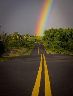 Rainbow, Big Island Hawaii