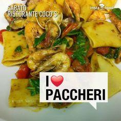 Paccheri And Clams Recipe — Dishmaps