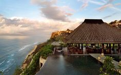 Bulgari Resort Bali is located 492 feet above sea level and offers sweeping views of the Indian Ocean. Bulgari Resort Bali Uluwatu Indonesia R:Bali hotel Hotels Bulgari Hotel Bali, Bulgari Resort Bali, Bvlgari Hotel, Bulgari Villa, Bali Resort, Resort Spa, Sunset Resort, Dream Vacations, Vacation Spots