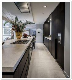 gepassioneerd vakmanschap, in ieder detail – Excellent Magazine Best Kitchen Designs, Modern Kitchen Design, Modern Interior Design, Interior Design Living Room, Coastal Interior, Minimal Kitchen, Modern Kitchens, Dream Kitchens, Diy Interior