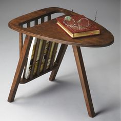 Mid-Century Modern Magazine Table - Overstock™ Shopping - Great Deals on Coffee, Sofa & End Tables
