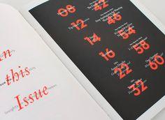 Editorial Design Inspiration: 99U Quarterly Mag No.6