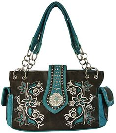 Western Purse Bling Flower Concho with Concealed Carry or... https://www.amazon.com/dp/B01B51STXC/ref=cm_sw_r_pi_dp_x_U6JTxbE90X22C