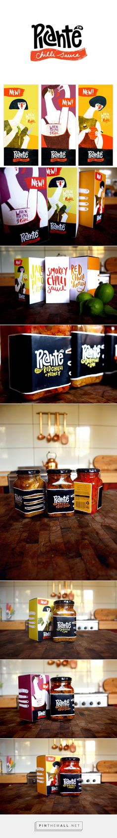 PICANTE CHILLI SAUCE on Behance by Sonia Dearling curated by Packaging Diva PD.  Packaging to evoke a sense of sensuality and curiosity in the brand targeting females as primary purchases and males as primary consumers.