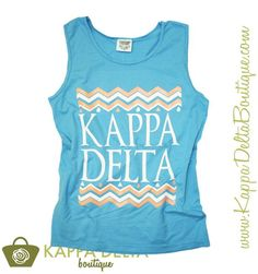 Bring on the warmer weather now that we've got the KD Boutique Light Blue Wave Tank Top by our side!