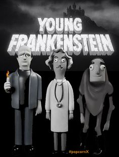 TOYSREVIL: Vinyl Idolz: Young Frankenstein from Vinyl Sugar