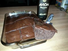 Avion Espresso Cake: Direct from the Tequila Aficionado Test Kitchen!  Created by Lisa Pietsch www.LisaPietsch.com