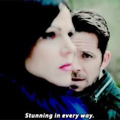 How Robin continues to see Regina...bold and audacious and stunning in every way.