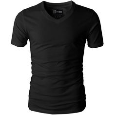 H2H Mens Casual Slim Fit Short Sleeve V-neck T-Shirt Of Various Colors ($14) ❤ liked on Polyvore featuring men's fashion, men's clothing, men's shirts, men's t-shirts, mens slim t shirts, mens slim shirts, mens v neck shirts, mens t shirts and mens vneck shirts