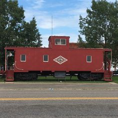Retired T&P caboose, Wills Point, TX